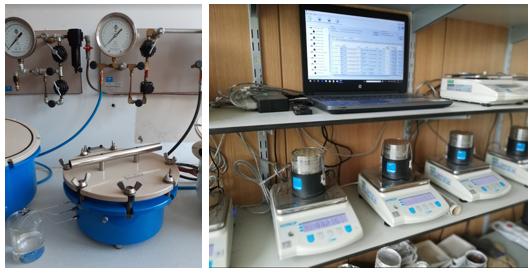 Laboratorijske analize vodnozadrževalnih lastnosti tal