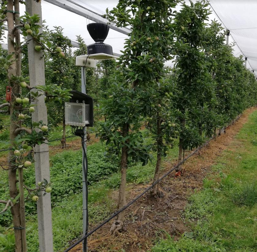 sistem za merjenje vsebnosti vode v tleh